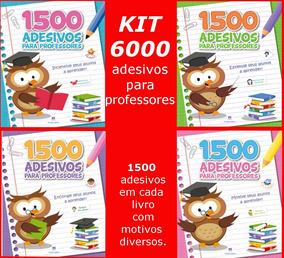 Kit 6000 Adesivos Para Professores