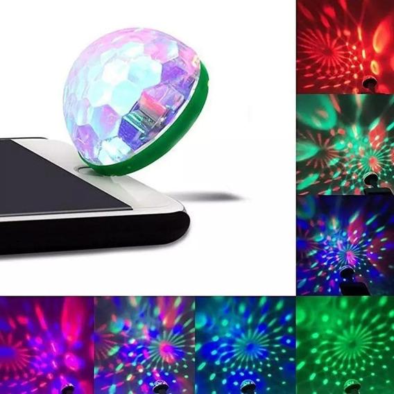 Globo Rgb Led Show Usb 5v.celular,tablet,carregador