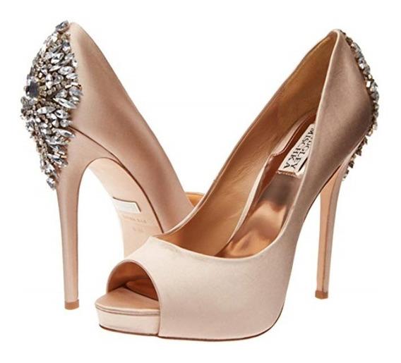 Zapatos Boda Badgley Mischka Kiara Peep-toe