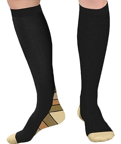 Calcetas Compresión Deporte Varices Circulación Hombre Mujer