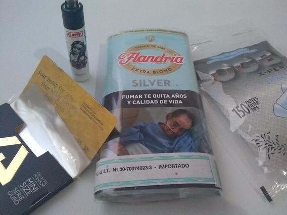 Tabaco Flandria + Clipper + Papel Celulosa + Filtros Ocb