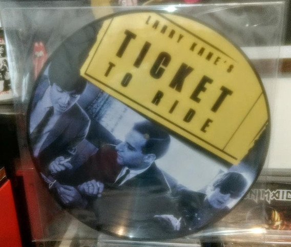 Lp The Beatles Larry Kanes Ticket To Ride (picture Disc)