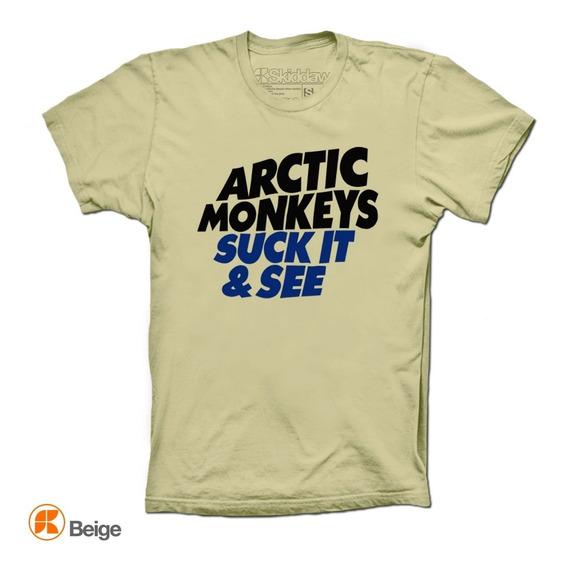 Arctic Monkeys Playeras Suck It And See Skiddaw
