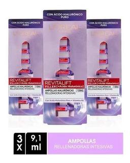 Pack 21 Ampollas Rellenadoras Ácido Hialurónico L