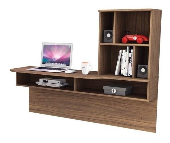 Bancada Escrivaninha Mesa De Estudos Suspensa Lilac Malbec - Colibri