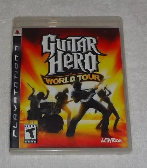 Guitar Hero World Tour Ps3 ** Leia