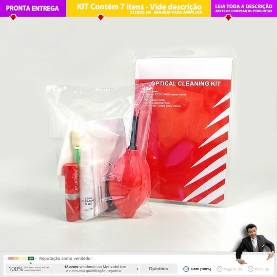 Kit Limpeza Dslr Para Lente Canon Filtro Sensor Etc 2a