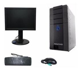 Computador Completo + Monitor + Teclado E Mouse #maisbarato