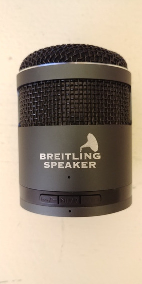 Idol2 Portátil Recarregável Compacto Breitling Speaker Novo
