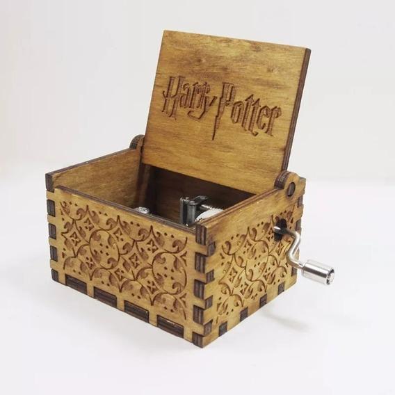 Caixinha De Música Harry Potter Manivela