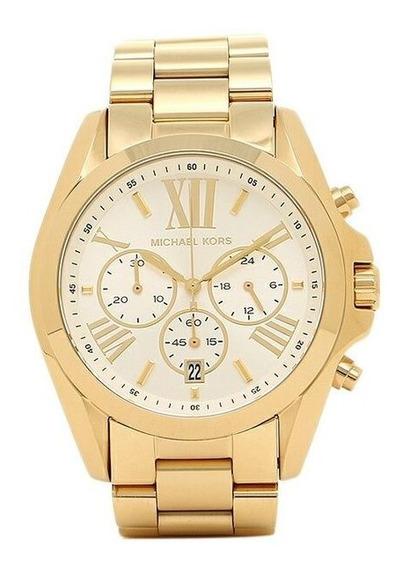 Relógio Michael Kors Feminino Mk6266/4bn Dourado - Caixa