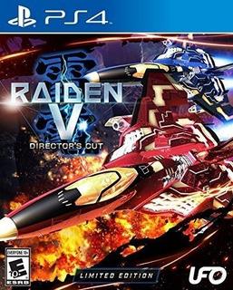 Raiden V Directors Cut Edicion Limitada W Original Soundtrac