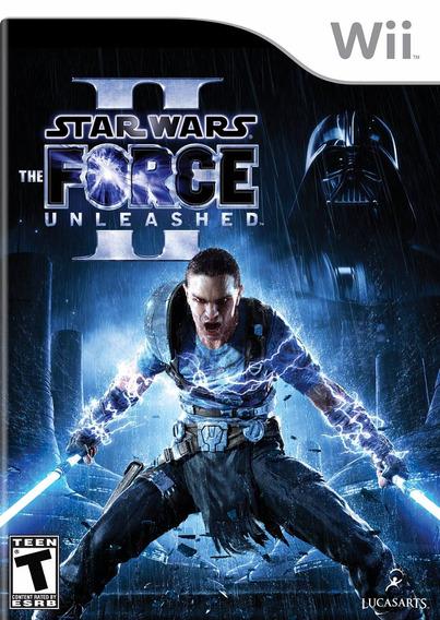 Jogo Mídia Física Star Wars Force Unleashed 2 Nintendo Wii