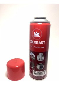 Tinta Spray Vermelho Alta Temperatura 600ºc Colorart Moto