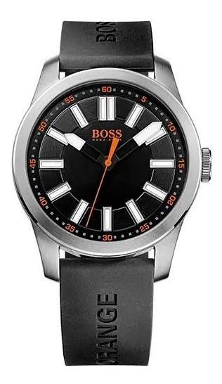 Relógio Hugo Boss Masculino Borracha Preta - 1512936