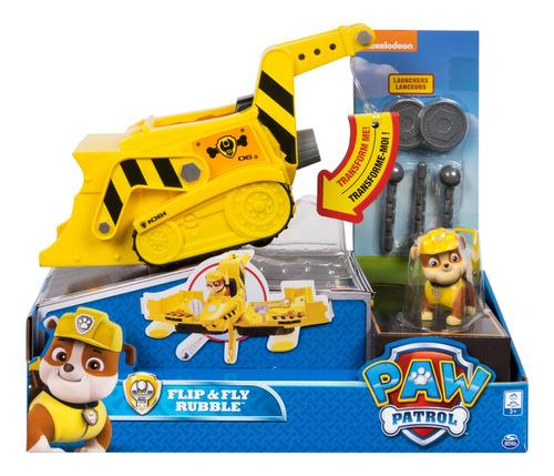 Paw Patrol Vehículo Gira Y Transforma Surt. Spin Master Toys