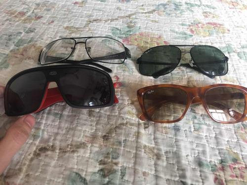 a0a8165ea Óculos Escuro Rayban Hb Ray Ban Antigo Óculos D Sol 200 Cada