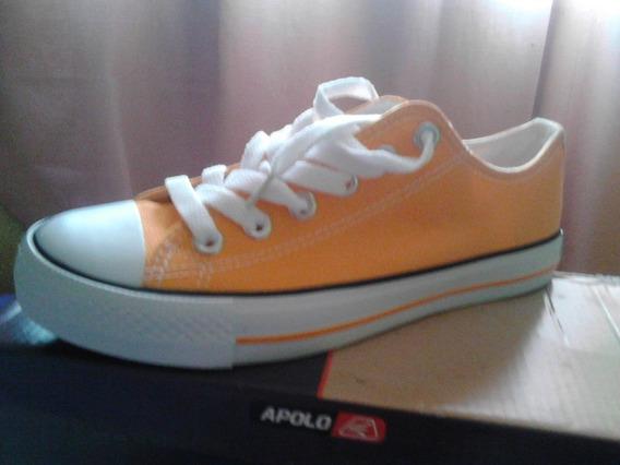 Zapatos Tipo Converse Marca Apolo Talla 37
