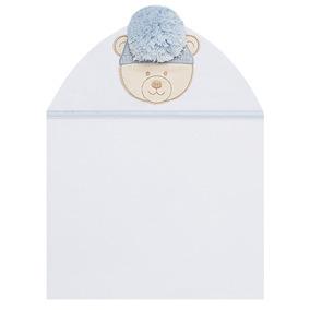 Toalha Com Capuz Para Bebê Ursinho - Petit