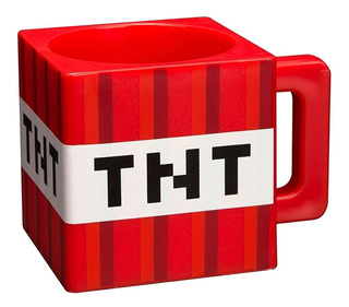 Minecraft Tnt 9.8 Ounce Taza De Café Plástico