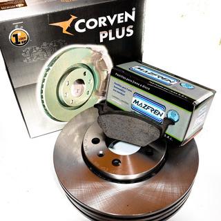 Kit Discos Y Pastillas P/ Volkswagen Fox Crossfox Suran