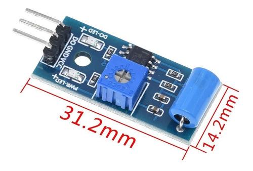 Sensor De Vibración Sw-420 Arduino