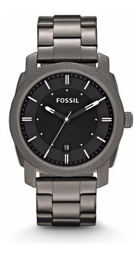 Reloj Fossil Fs4774 Machine Three Hand Stainless Steel Mujer