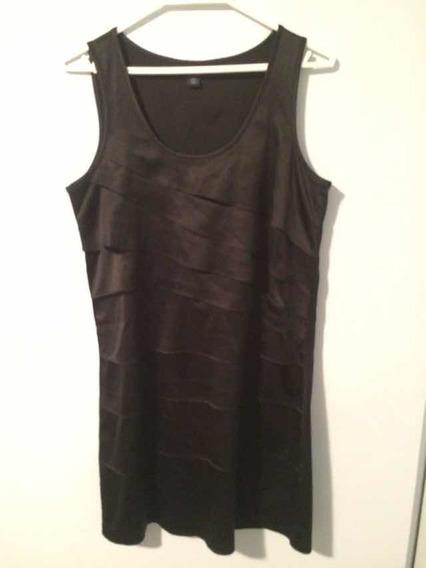 Vestido De Fiesta Negro Tommy Hilfiger Original Talla 6
