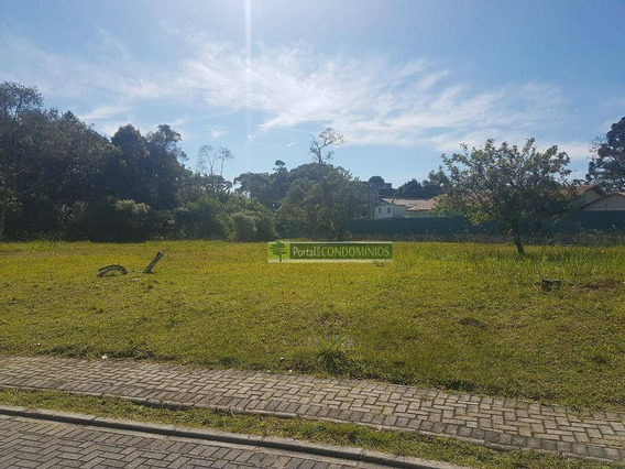 Terreno À Venda, 1110 M² Por R$ 529.000,00 - Santa Felicidade - Curitiba/pr - Te0442