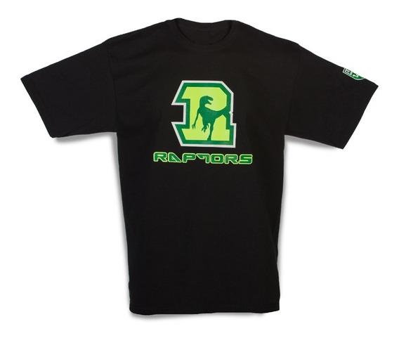 Raptors Lfa T-shirt Básica Negra