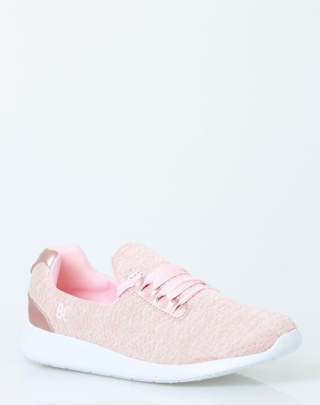 Tenis Been Class Mujer Rosa Textil 10192