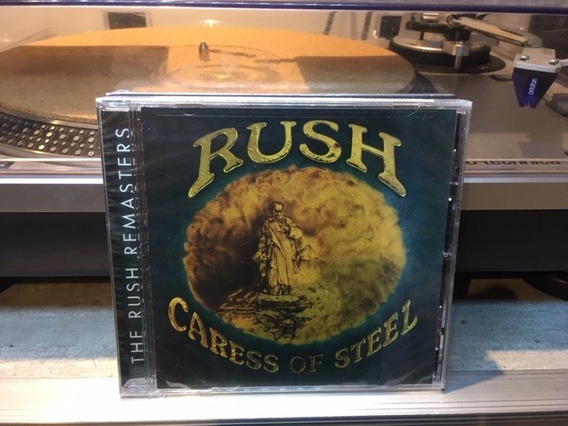 Rush - Caress Of Steel - Cd Made In Usa