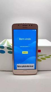 Telefone Moto E 4 Xt 1763 Ouro Rose 16gb Vitrine Original