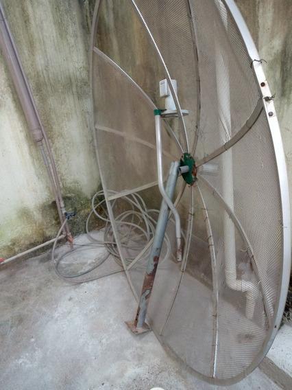 Antena Parabólica Usada