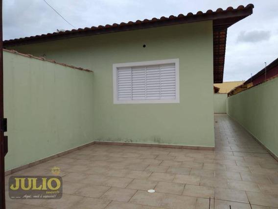Entrada 30 Mil + Saldo Super Facilitado. Casa Com 2 Dormitórios À Venda, 62 M² Por R$ 150.000 - Suarão - Itanhaém/sp - Ca3451