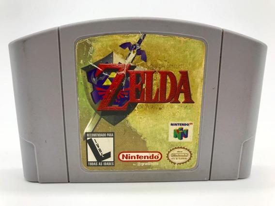 Zelda Ocarina Of Time Nintendo 64 N64 Original Gradiente