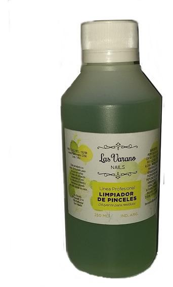 Limpiador De Pinceles Las Varano 250ml X1.