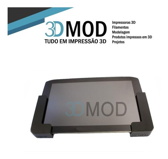 Kit Com 6 Suportes iPad Tablet Lateral Até 1 Cm De Parede