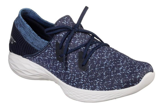 Tenis Skechers You Exhale Feminino 14964-nvy