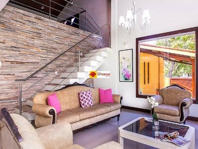 Casa Em Condomínio Para Venda Piatã, Salvador, 4 Dormitórios Sendo 2 Suítes, 6 Banheiros, 3 Vagas, 450 Construída, 820 Área Do Terreno, Venda R$ 1.400.000,00. - Tjl7650 - 4730205