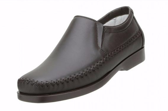 Mocassim Sapato Masculino Leve E Confortável Couro Legítimo