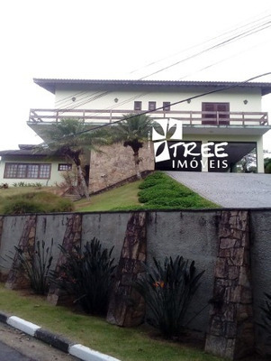 Locação Casa Condomíno Arujazinho I Ii Iii Excelente Imóvel Com A/t 1200m² A/c 620m² Distribuídos Em 04 - Ca01509 - 33826537