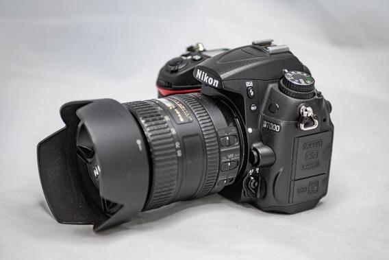 Nikon D7000 + Nikon 16-85 Vr 58 Mil Cliques