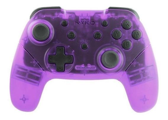 Control joystick Nyko Wireless Core Switch púrpura