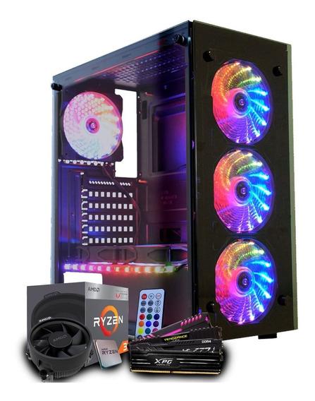Pc Gamer Amd Ryzen 3 3200g Vega Graphics 8, 8gb Ddr4