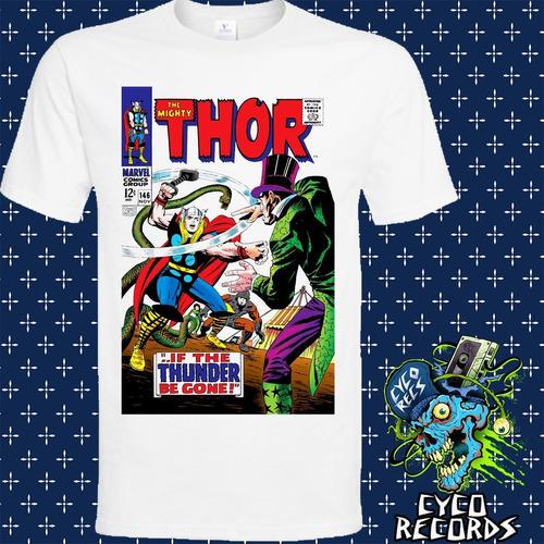 Imagen 1 de 3 de Thor - Comic - Comics - Polera- Cyco Records