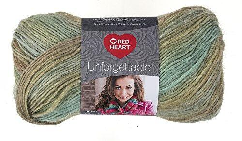 E793-3941 Meadow Red Heart Boutique Unforgettable Yarn