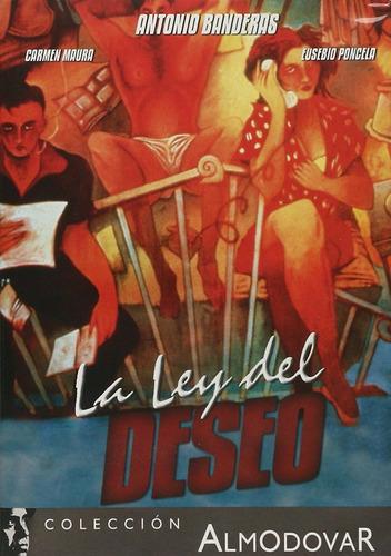 La Ley Del Deseo Pedro Almodovar Pelicula Dvd