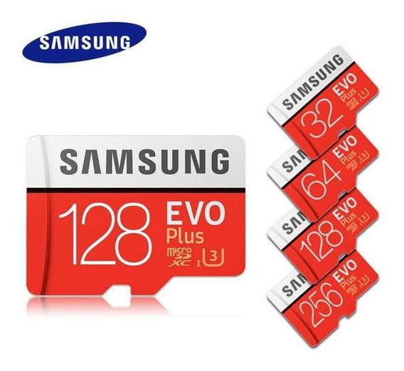 Cartão De Memória Samsung 32gb Original Evo Plus Catão Sd