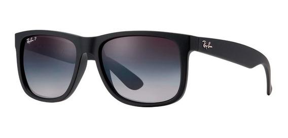 Óculos Ray-ban Justin Rb4165 Polarizado Original Promoção